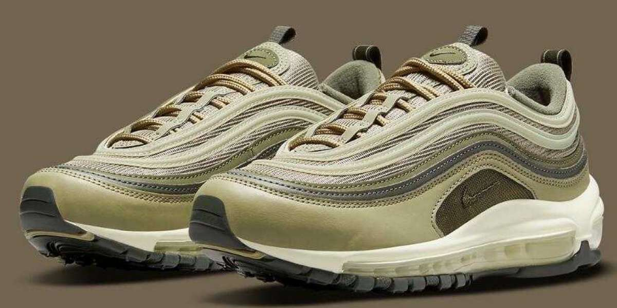 New Release Nike Air Max 97 Covered by Multiple Shades Of Green