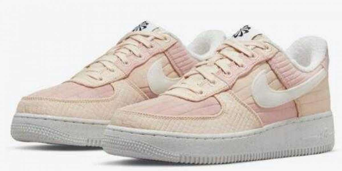 """Pink Shades Dressed Up This Nike Air Force 1 Low """"Toasty"""""""